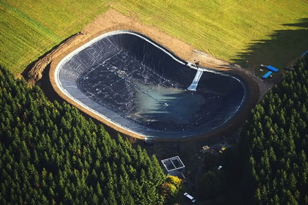 TCS Geomembranes for ponds and lakes