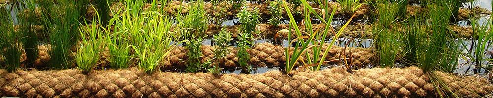 TECHMAT biodegradable coir erosion matting