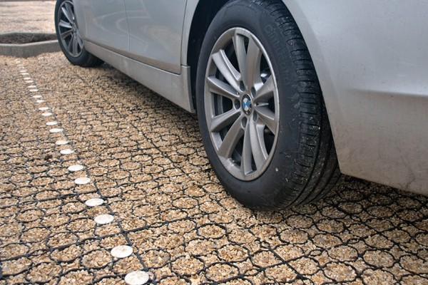 TECHPAVE R grass and gravel paviour system
