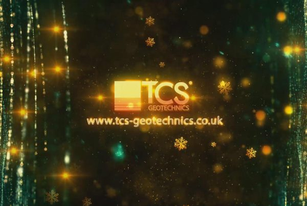 christmas image of tcs geotechnics logo for successful end of year