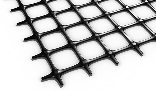 biax geogrid render on white background