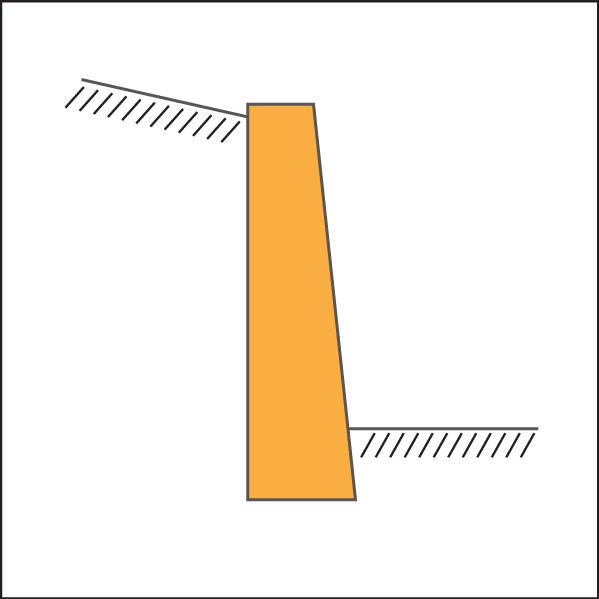 gravity wall diagram