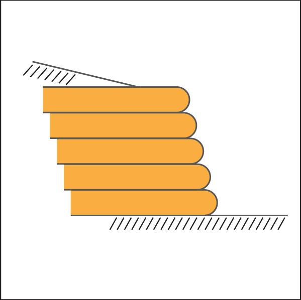 geogrid soil wall diagram